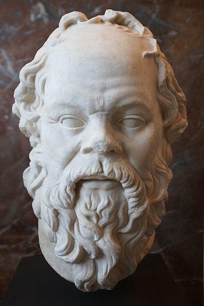Sócrates, o mestre da maiêutica.[1]