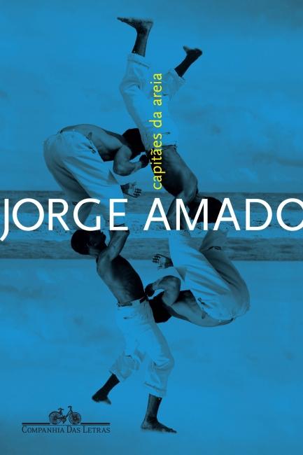 Capa do livro Capitães da areia, de Jorge Amado, publicado pela editora Companhia das Letras. [1]