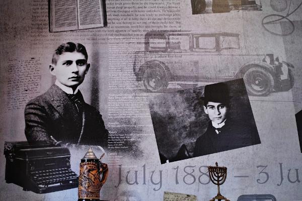 Franz Kafka é um dos grandes nomes da literatura do início do século XX. [1]
