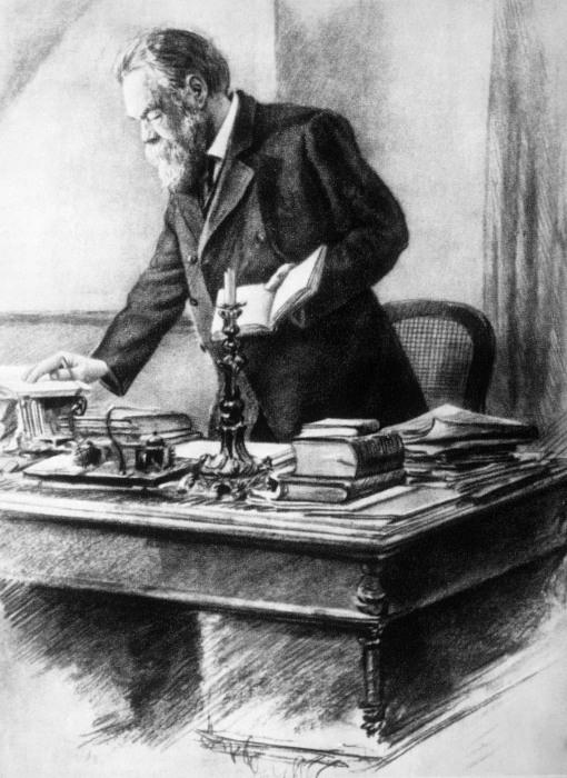 """Friedrich Engels completou os volumes II e III da obra """"O Capital"""", após a morte de Marx."""