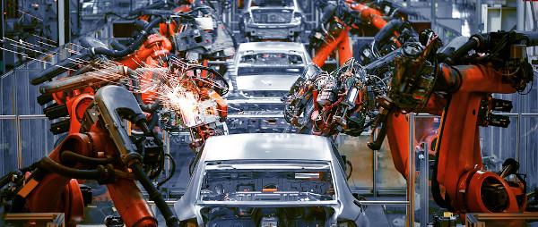 Indústria de produção de automóvel