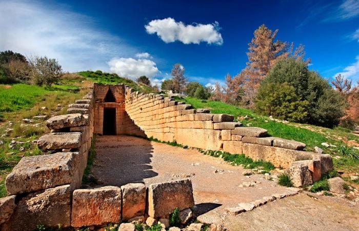 A civilização micênica existiu de 1600 a.C. a 1200 a.C.[1]