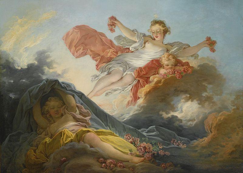 Triunfo de Aurora, de Jean-Honoré Fragonard.