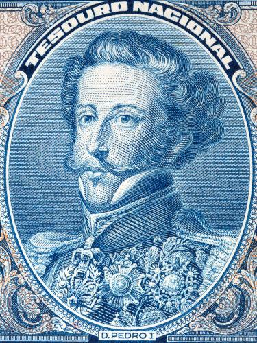 Dom Pedro I foi imperador do Brasil de dezembro de 1822 a abril de 1831.