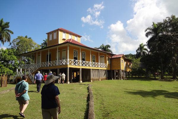 Casa onde Fidel Castro nasceu em Birán, no ano de 1926. O local atualmente é um museu.