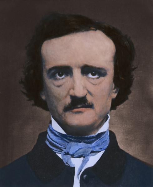 Edgar Allan Poe, em 1848.