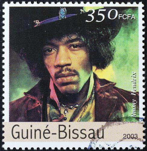 O Festival de Woodstock foi um símbolo da contracultura nos Estados Unidos e imortalizou apresentações, como a de Jimi Hendrix.[2]