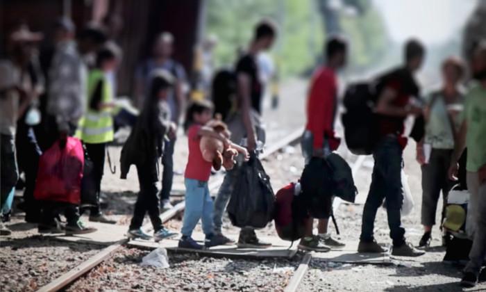 Típica migração de refúgio.