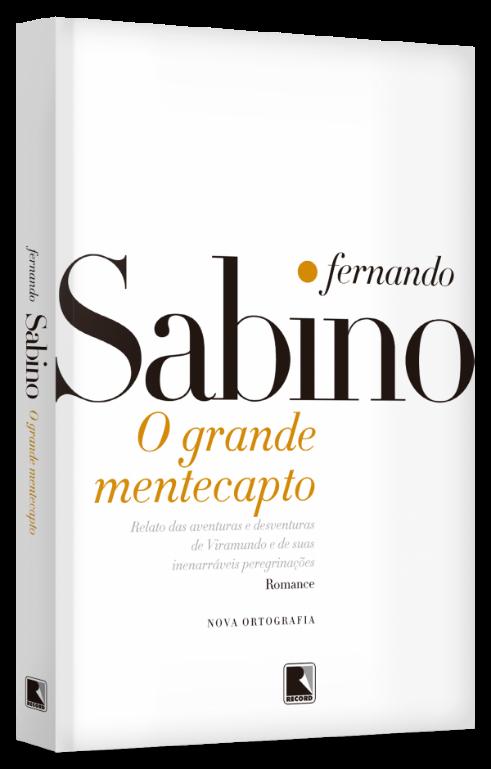 Capa do livro O grande mentecapto, de Fernando Sabino, publicado pela editora Record.[1]