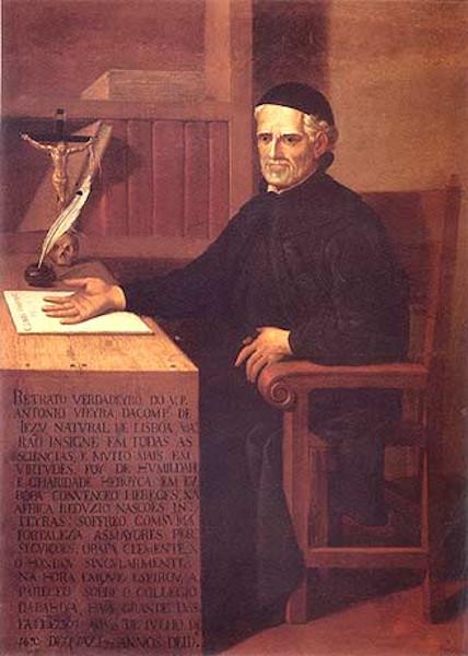 Padre Antônio Vieira, em obra de autor desconhecido.