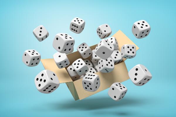Probabilidade estuda a chance de um evento ocorrer.