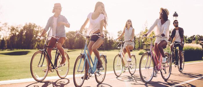 A bicicleta pode ser uma boa alternativa ao uso do carro.