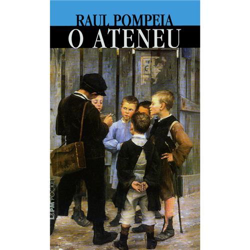 Capa do livro O Ateneu, de Raul Pompeia, publicado pela editora L&PM.  1 