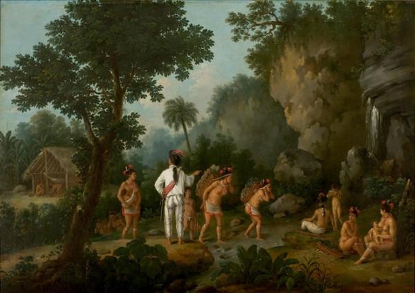 """""""O caçador de escravos"""", obra de Jean-Baptiste Debret (1768-1848)"""