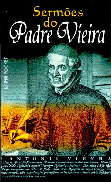 """Capa do livro """"Sermões"""", de Pe. António Vieira, publicado pela editora L&PM. [1]"""