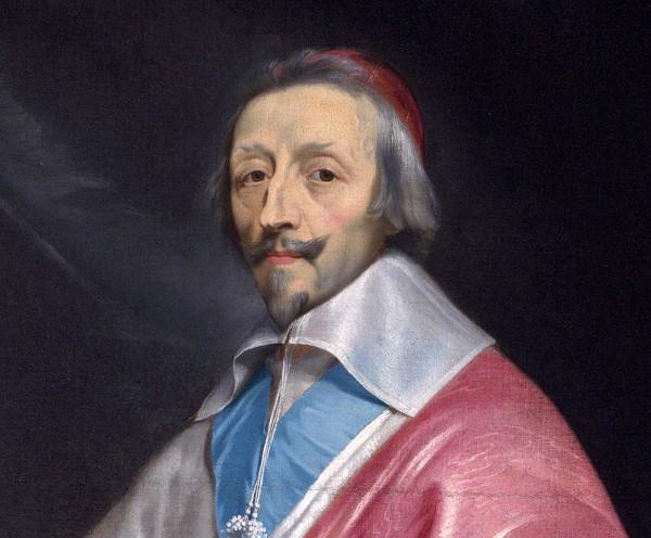 Cardeal Richelieu teve importante participação no Período Francês da Guerra dos Trinta Anos.
