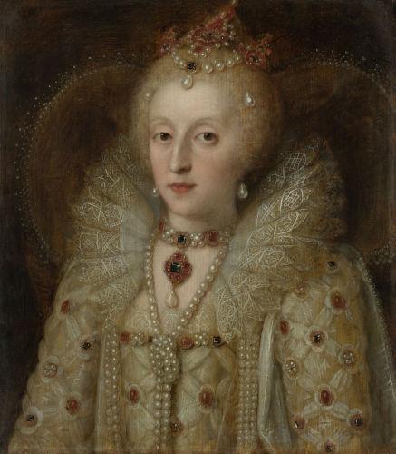 A rainha inglesa Elizabeth I manteve Maria Stuart como sua prisioneira por quase duas décadas.
