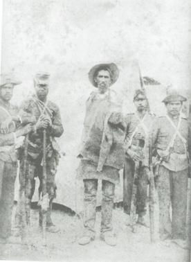 Fotografia de Flavio de Barros: jagunço preso em 1897, durante a Guerra de Canudos.