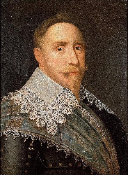 Gustavo Adolfo, rei da Suécia.