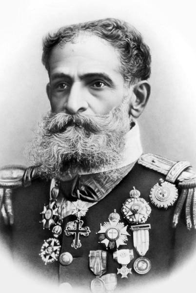 Marechal Deodoro da Fonseca, primeiro presidente do Brasil.