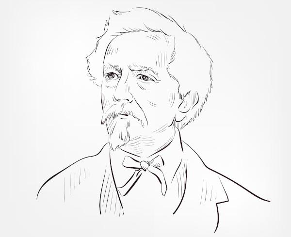 Ascanio Sobrero, químico italiano que descobriu a nitroglicerina.