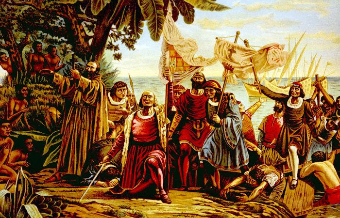 A chegada dos europeus na América por meio da expedição de Colombo em 1492 é um dos marcos desse período.