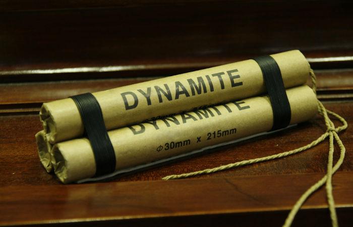 Criada em 1867, a dinamite foi uma das grandes invenções de Alfred Nobel.