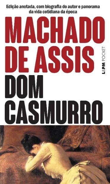 Capa do livro Dom Casmurro, de Machado de Assis, publicado pela editora L&PM.[1]