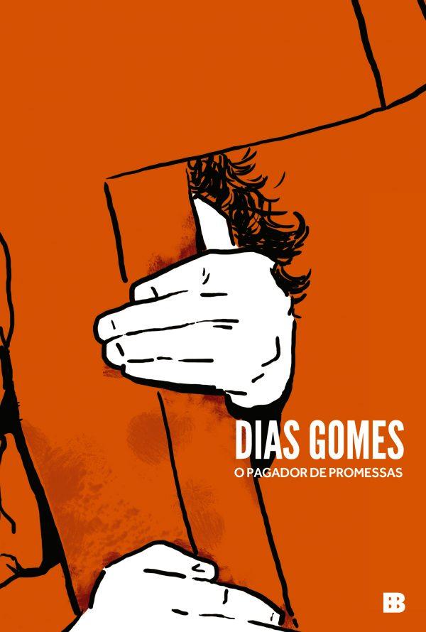 Capa do livro O pagador de promessas, de Dias Gomes, publicado pela editora Bertrand Brasil, do Grupo Editorial Record.