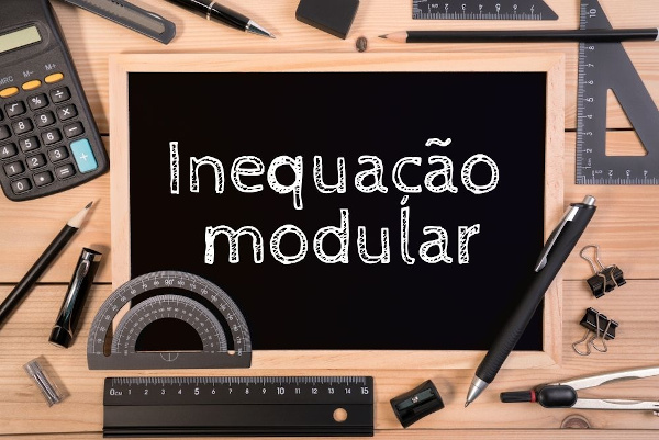 Inequação modular é uma inequação que possui o módulo de uma ou mais incógnitas.