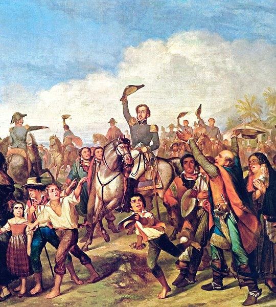 Permanecendo no Brasil, Dom Pedro I tornou-se o líder que proclamou a independência, em 7 de setembro de 1822.