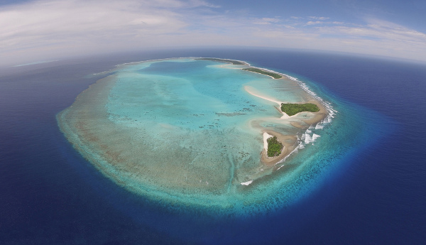 Atol de Palau, Oceania.