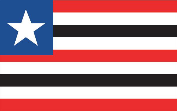 Bandeira do estado do Maranhão.