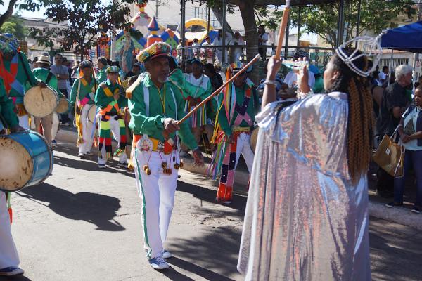 Os guardas do Congado dão alcunha à manifestação cultural-religiosa que acontece em Minas Gerais no mês de janeiro.