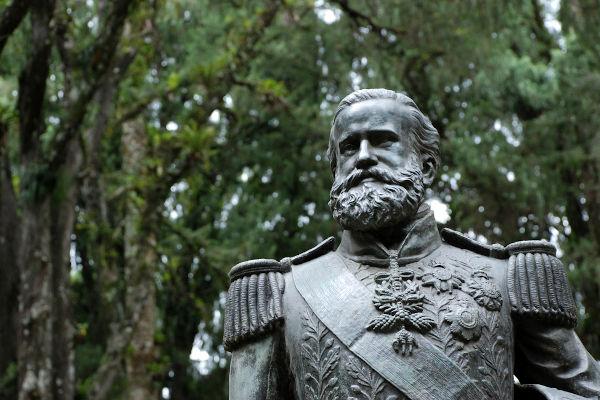 Dom Pedro II foi imperador do Brasil de 1840 até 1889.