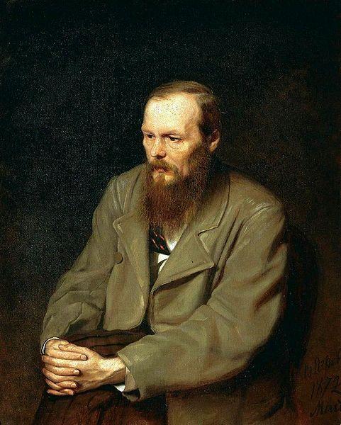 Fiódor Dostoiévski é um grande nome da literatura mundial.