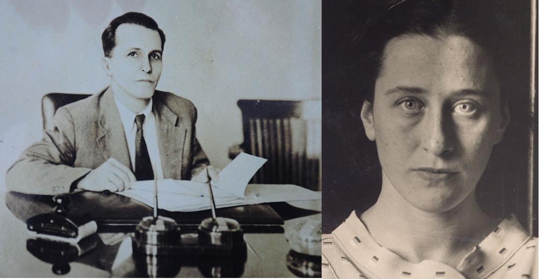 Luís Carlos Prestes e Olga Benário conheceram-se em Moscou, em 1931, e organizaram a Intentona Comunista em 1935. [2]