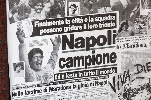 No Napoli, o craque chegou ao auge da carreira e viveu momentos polêmicos na vida pessoal. [4]