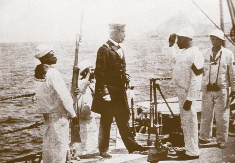 O encouraçado Minas Gerais foi de fundamental importância para a Revolta da Chibata.