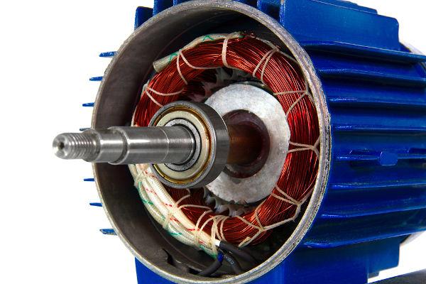 Os motores são receptores elétricos que funcionam de acordo com a força contraeletromotriz.
