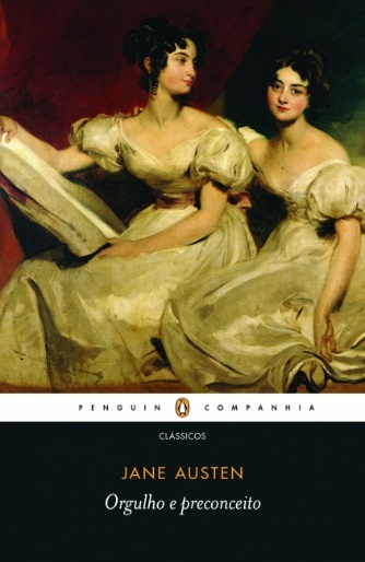 Capa do livro Orgulho e preconceito, de Jane Austen, publicado pela editora Companhia das Letras.[1]