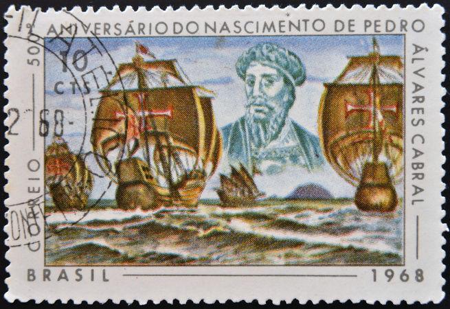 Em 1500, a expedição de Pedro Álvares Cabral chegou ao Brasil para investigar as possibilidades que os portugueses teriam na América.[1]