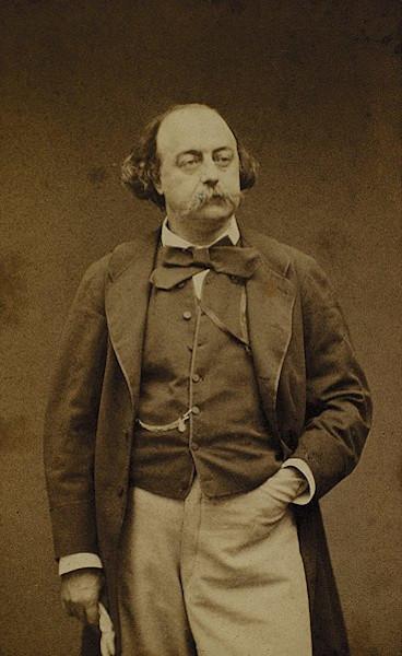 Gustave Flaubert, em fotografia de Étienne Carjat (1828-1906).