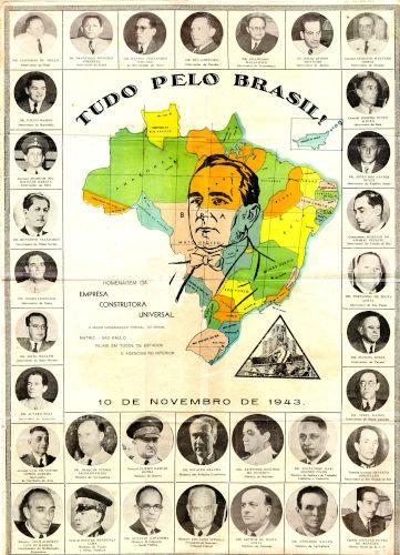 O DIP foi responsável pelo culto à personalidade de Getúlio Vargas.[1]