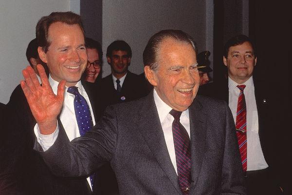 Em 1968, Richard Nixon foi eleito presidente dos Estados Unidos.[2]
