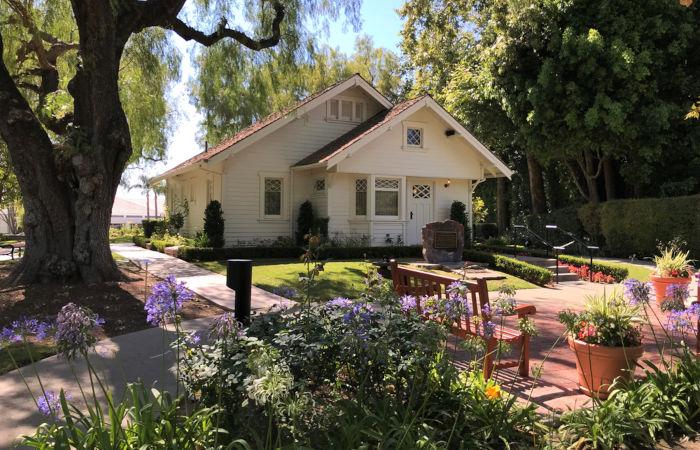 Local onde Nixon nasceu e passou parte de sua infância, em Yorba Linda, Califórnia.[1]