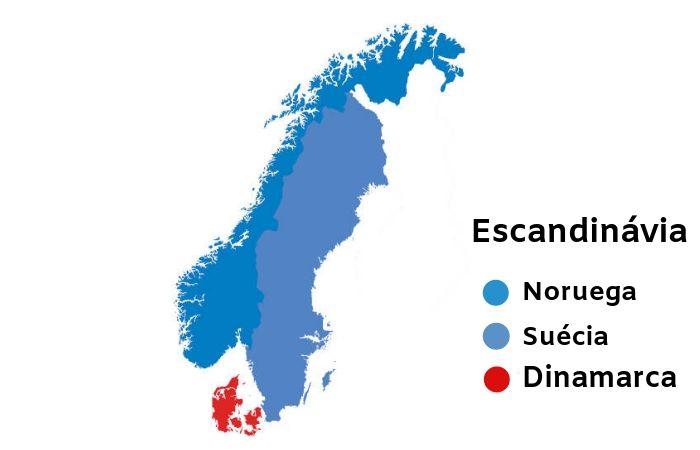 A Escandinávia é uma das regiões mais desenvolvidas do mundo econômica e socialmente.