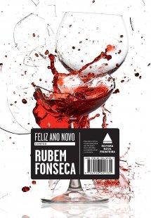 """Capa do livro """"Feliz Ano Novo"""", de Rubem Fonseca, publicado com o selo Nova Fronteira.[1]"""