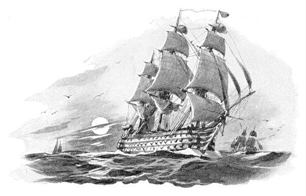A abertura dos portos permitiu que as embarcações inglesas viessem ao Brasil para comerciar.