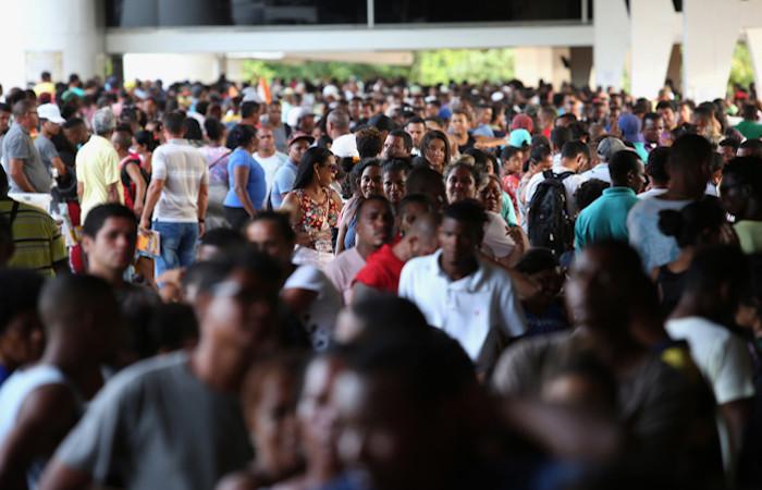 A população brasileira segue em crescimento, porém a taxas cada vez mais baixas.